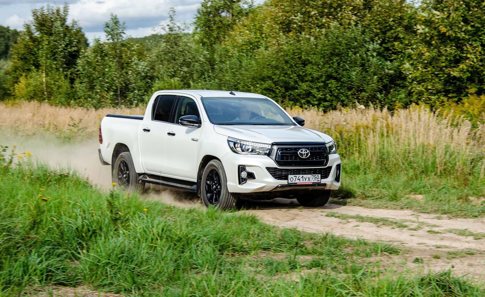 6000 км на пикапе Toyota Hilux: расстаюсь с сожалением