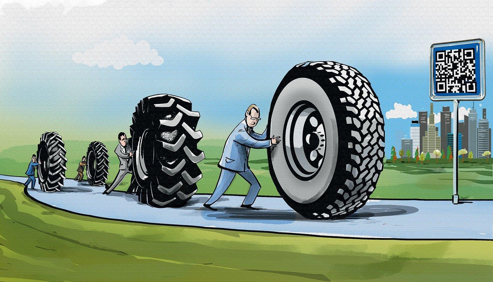 В России запретили продажу шин без маркировки. Ждём дефицита и роста цен?