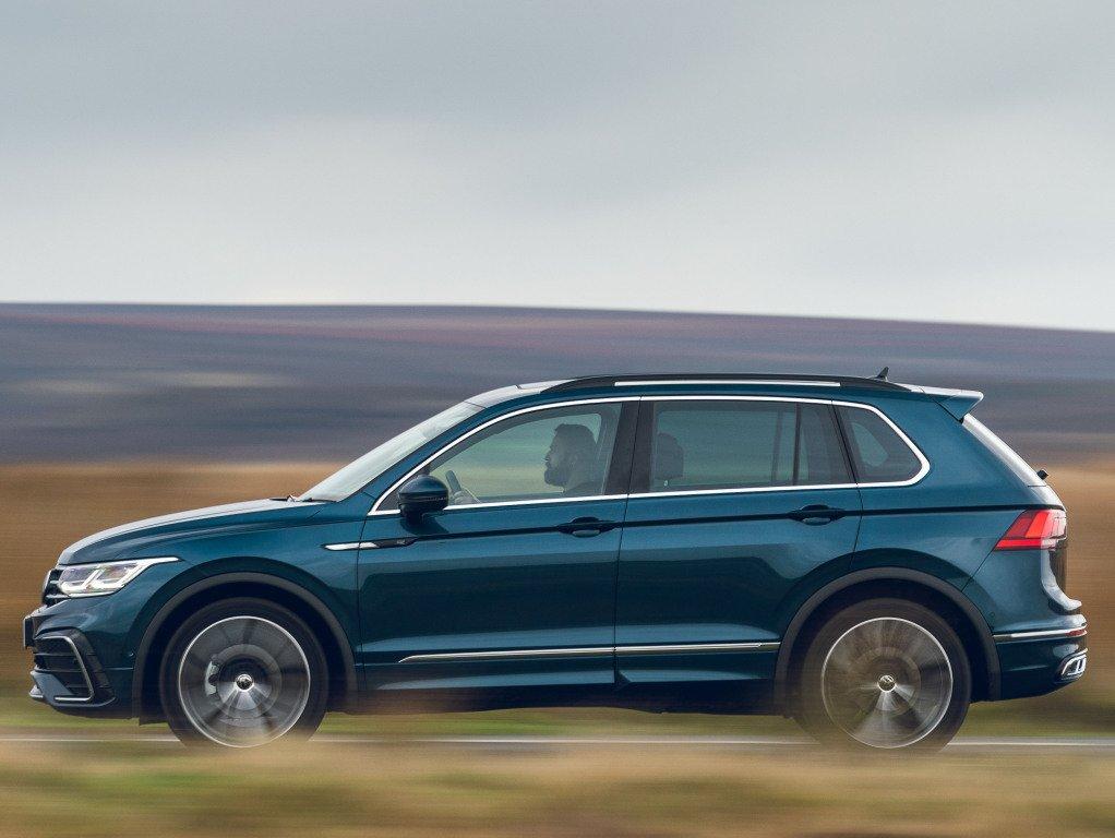 Обновленный кроссовер Volkswagen Tiguan выходит на российский рынок