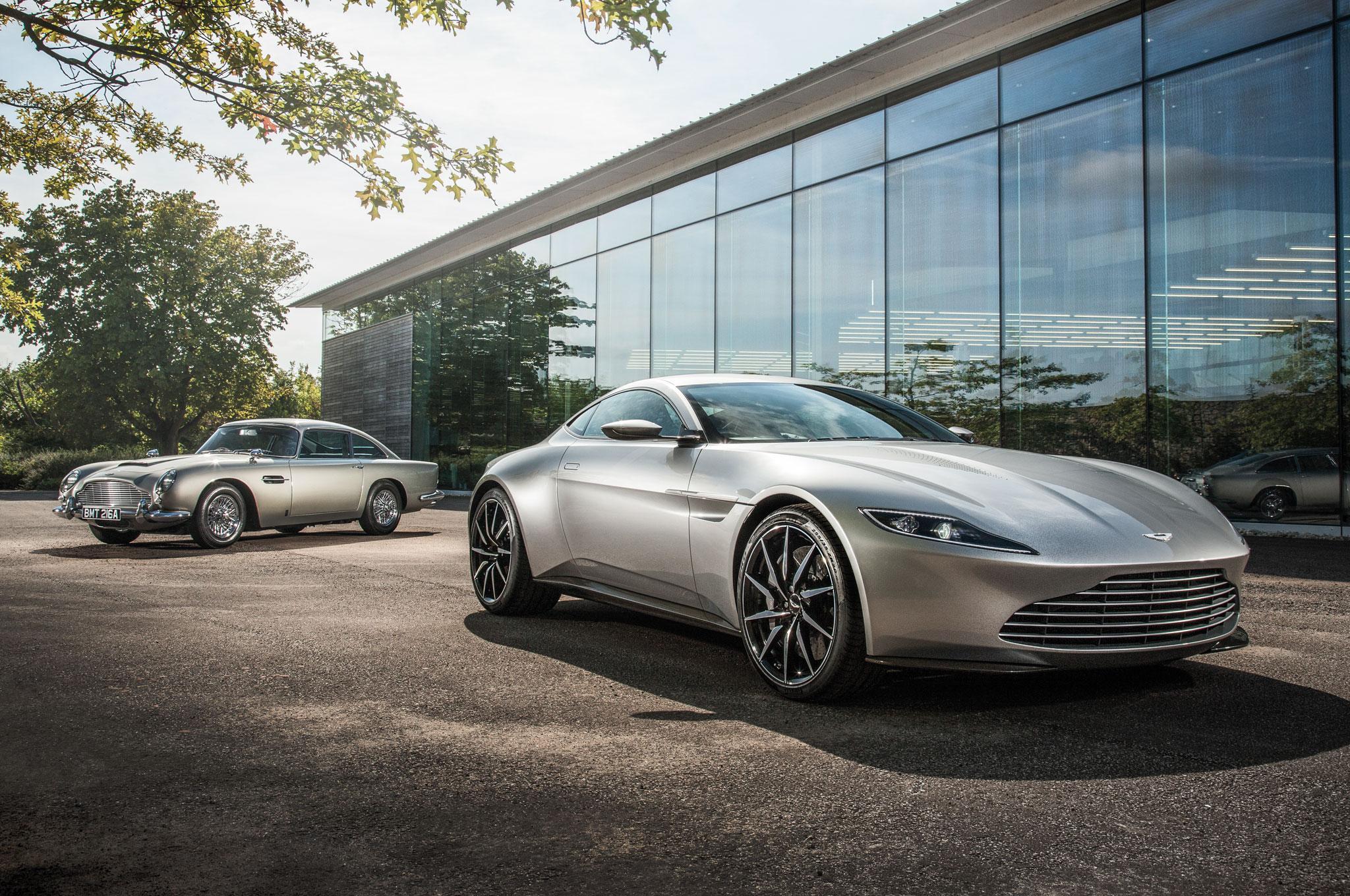 Aston Martin анонсировал сразу 10 новинок в течение двух лет