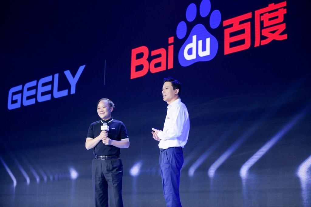 «Китайский Google» хочет совместно с Geely создать электрокар