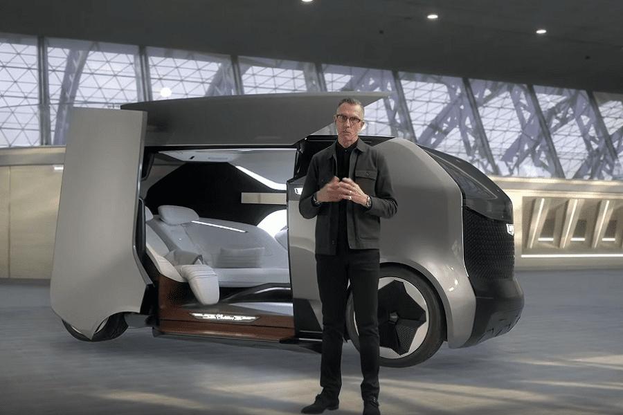 General Motors представил, как будет выглядеть летающий Cadillac