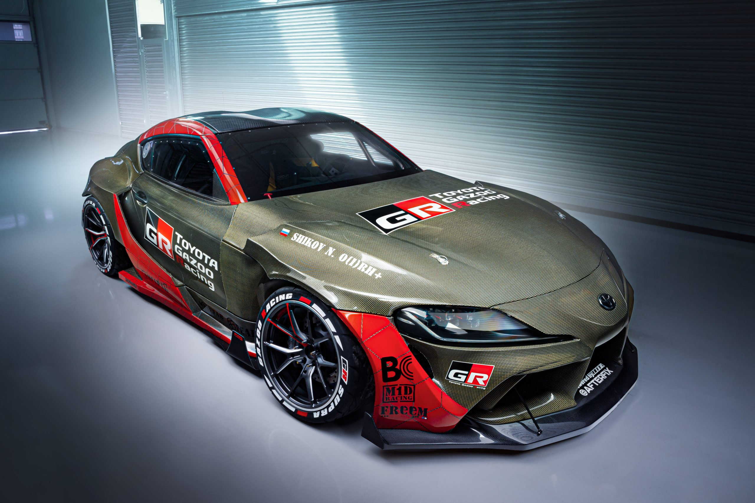 Toyota рассекретила первую в мире карбон-кевларовую GR Supra для дрифта