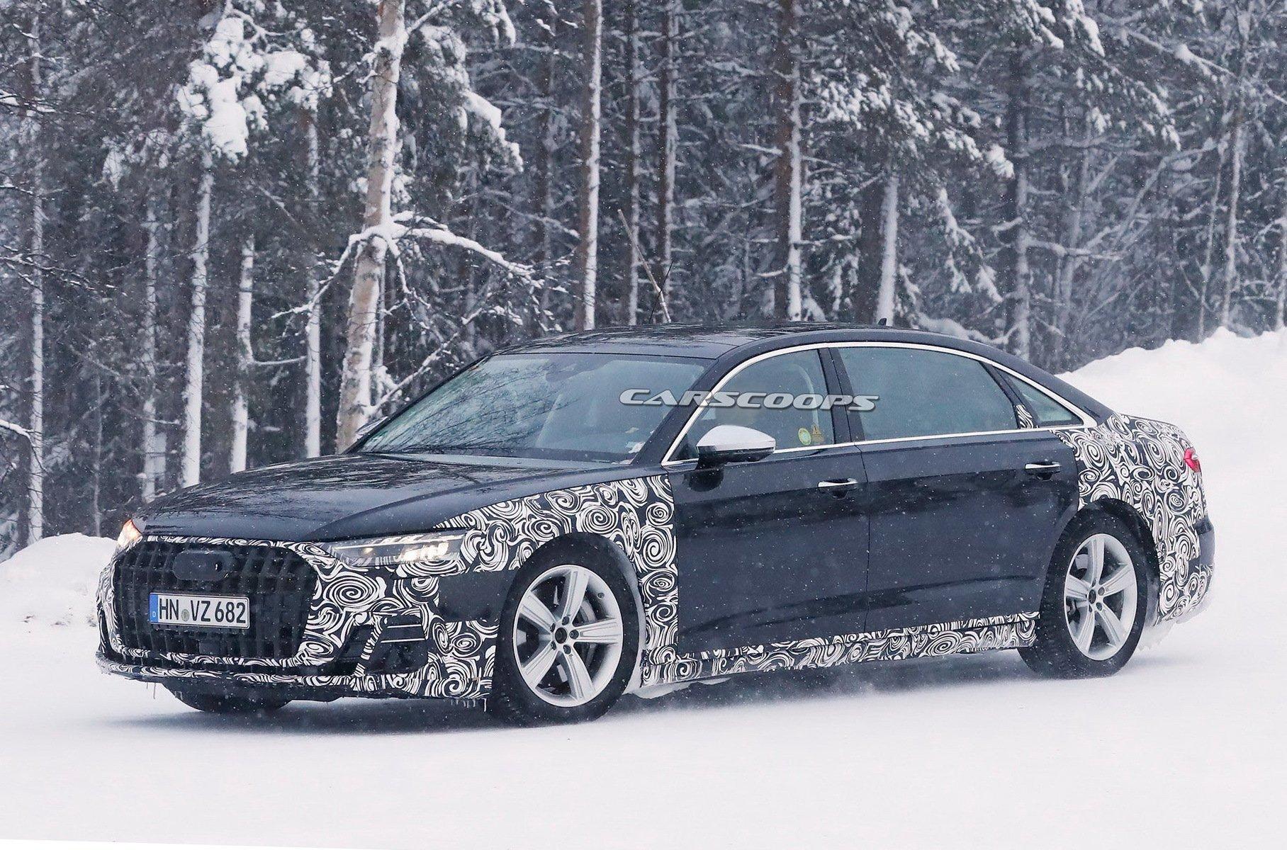 Обнародованы первые фотографии лимузина Audi-Horch