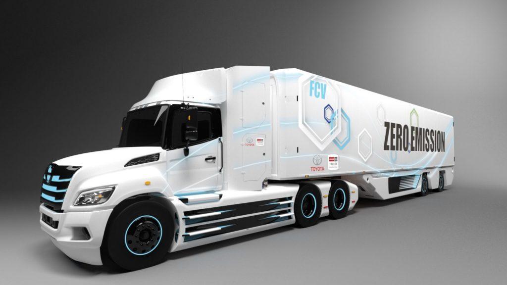 Водородный седан Toyotа Mirai II выведет тягачи Kenworth из порта