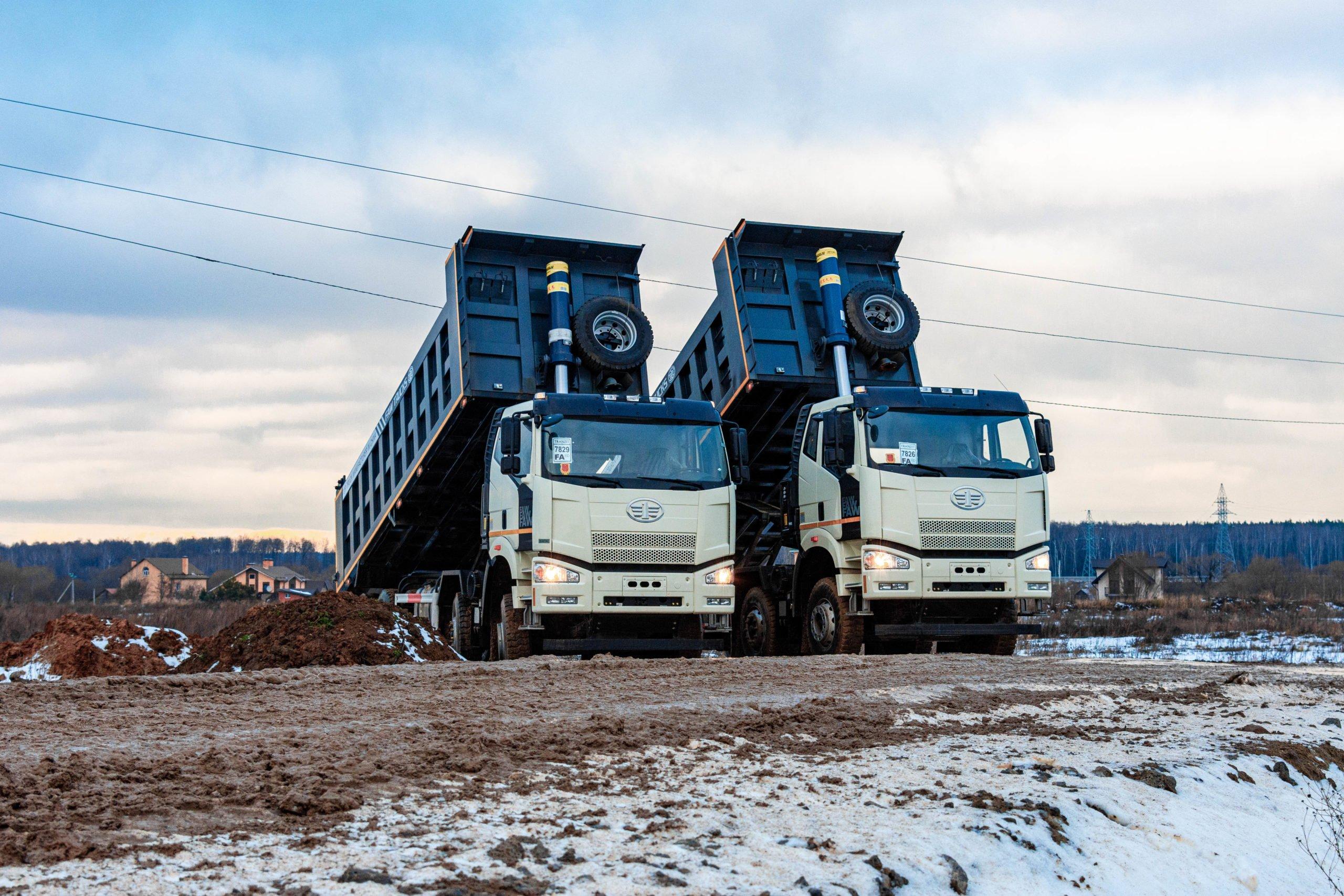 Продажи грузовиков FAW в России за 2020 год выросли на 100%