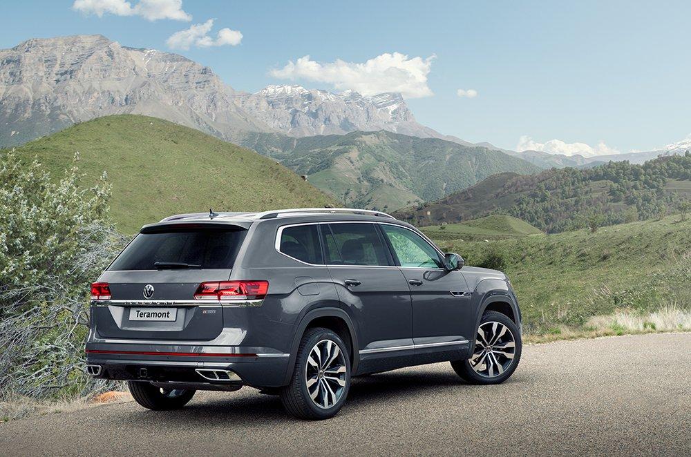Volkswagen рассказал о новом Teramont для России
