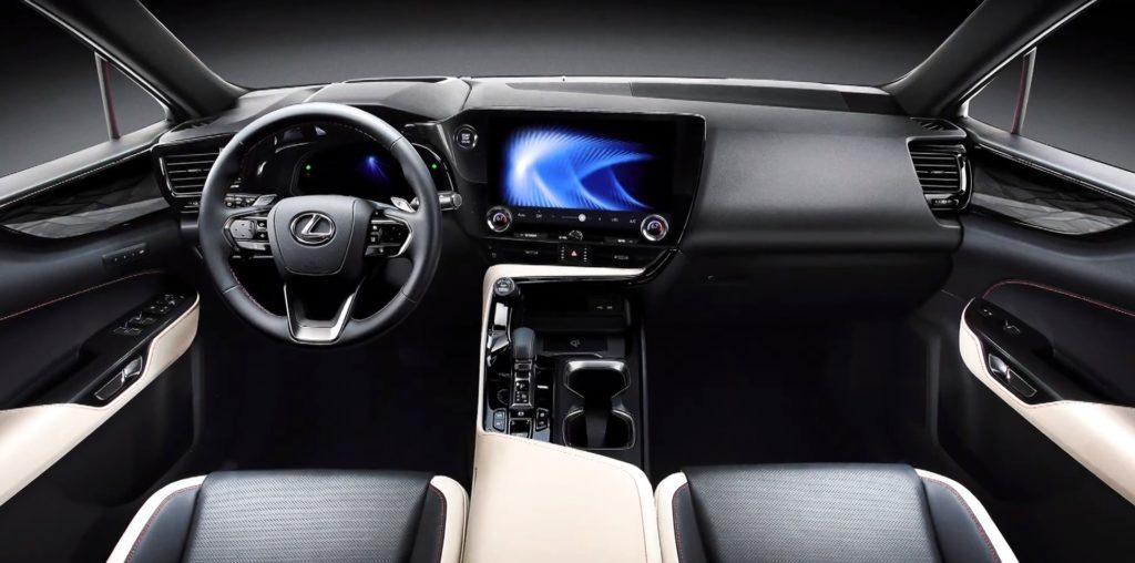 Новое поколение кроссовера Lexus NX получит революционный интерьер