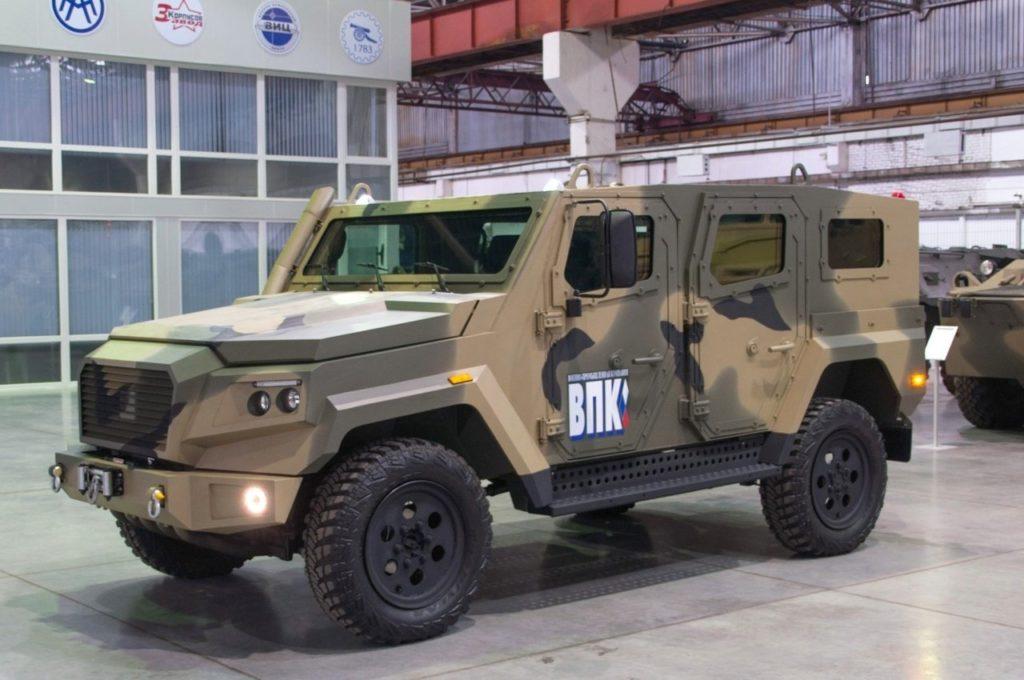 Российский военный концерн хочет создать конкурента Toyota Land Cruiser на базе армейского броневика
