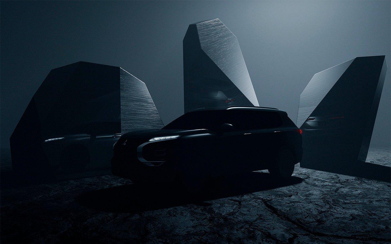 Выпущен первый экземпляр нового Mitsubishi Outlander