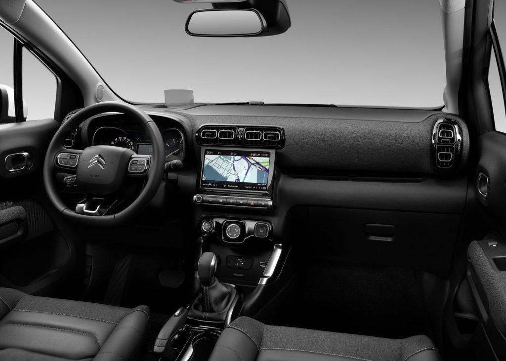 Citroen рассекретил обновлённый кроссовер C3 Aircross