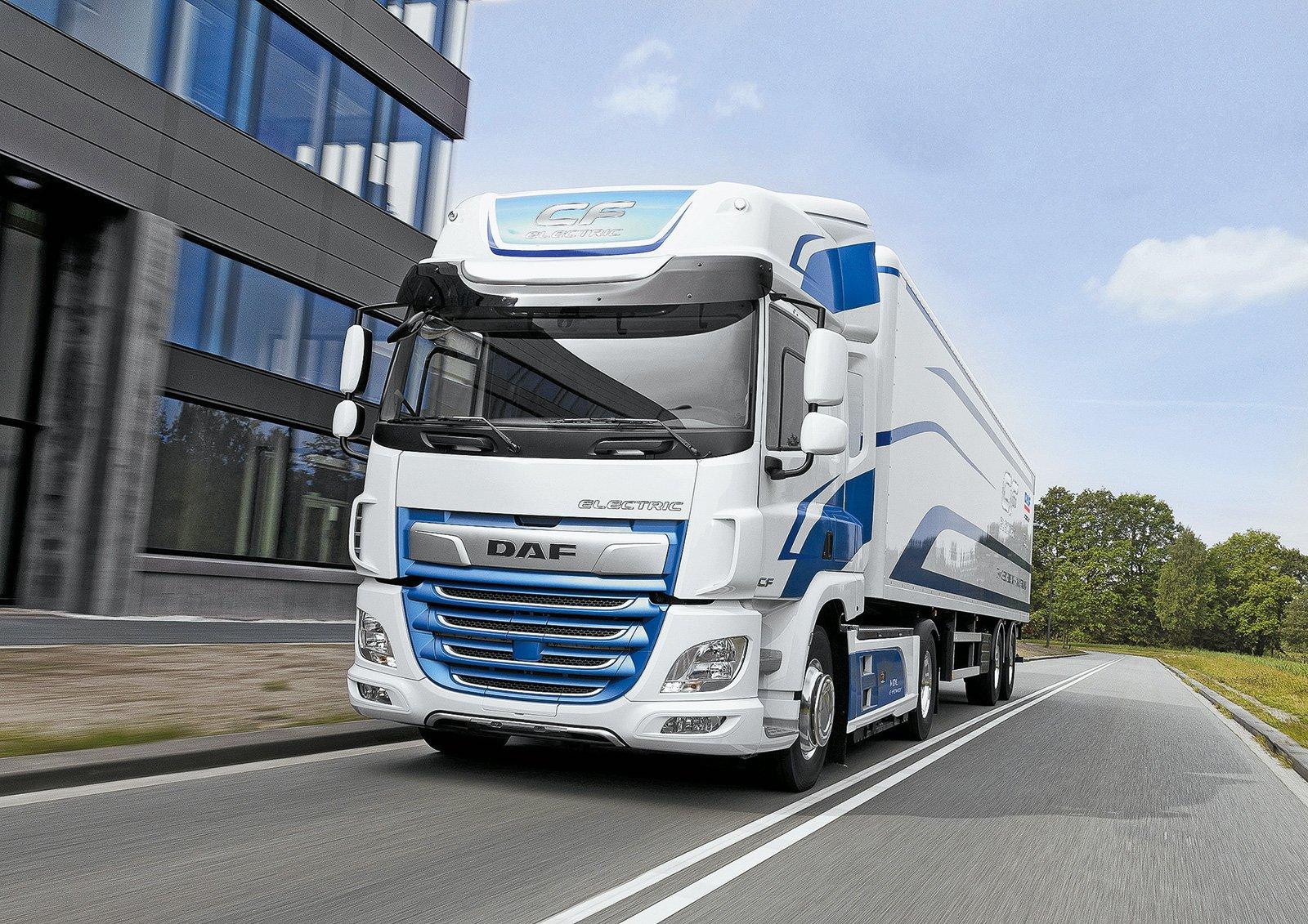 Электрические грузовики: в чем их преимущества и недостатки. Разбираемся на примере DAF CF Electric