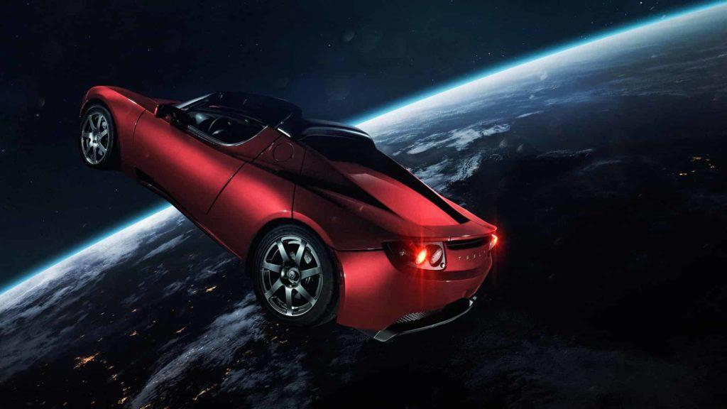 Илон Маск хочет заставить Tesla Roadster научиться летать