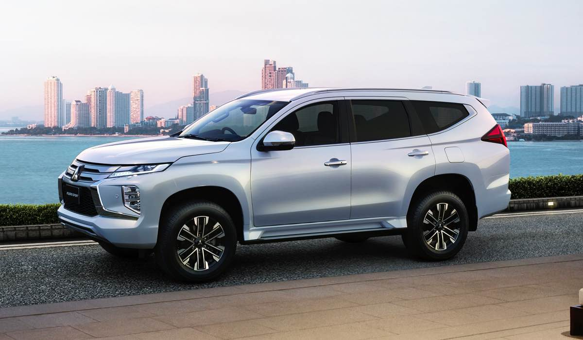 Обновленный внедорожник Mitsubishi Pajero Sport для российского рынка сохранит турбодизель