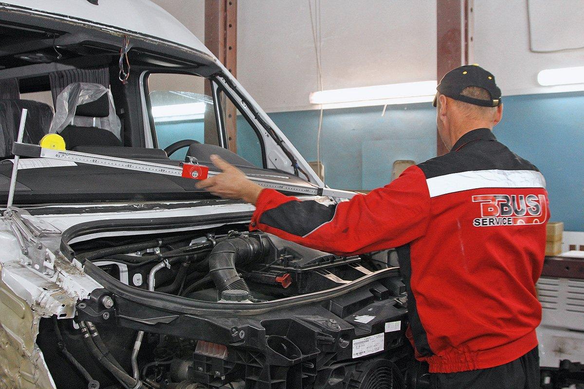 Как работает грузовой автосервис в Москве: смотрим СТО «БизнесБас Сервис»