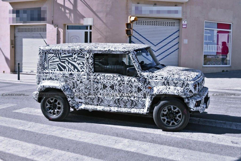 Suzuki готовит пятидверный вариант бестселлера Jimny