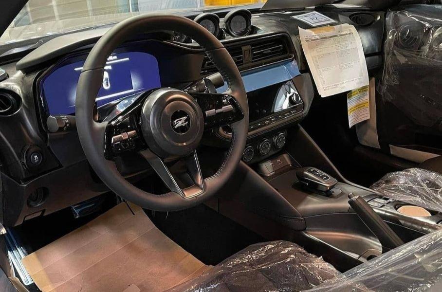 Спорткар Nissan 400Z рассекречен в серийном кузове