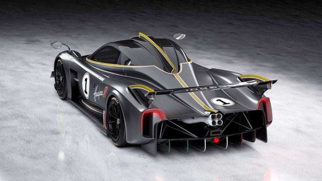 Pagani представил самый мощный суперкар Huayra R