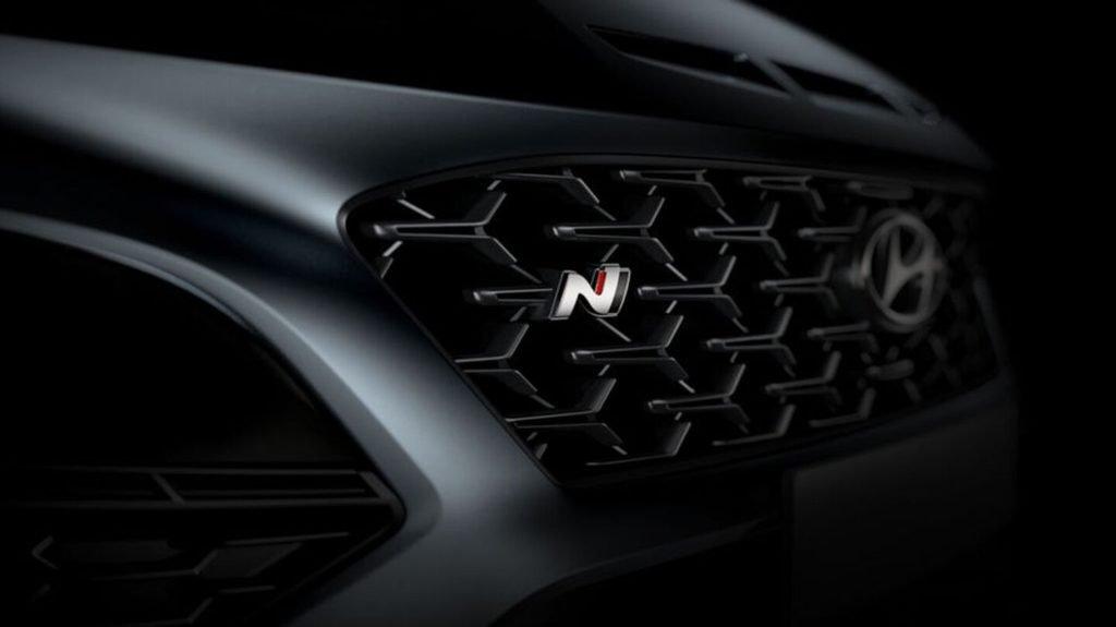 Hyundai показал «заряженный» кроссовер Kona N на первых снимках