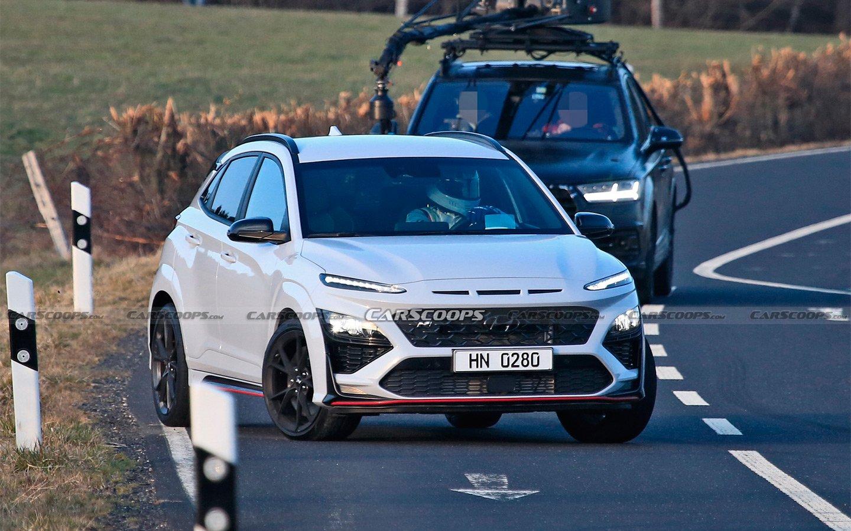 «Заряженный» Hyundai Kona N был замечен во время съёмок