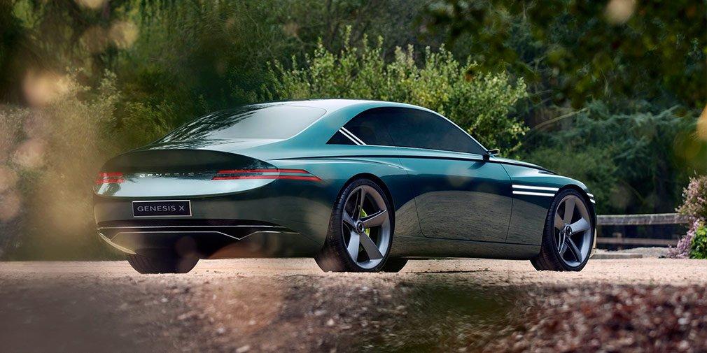 Genesis представил роскошное купе X Concept