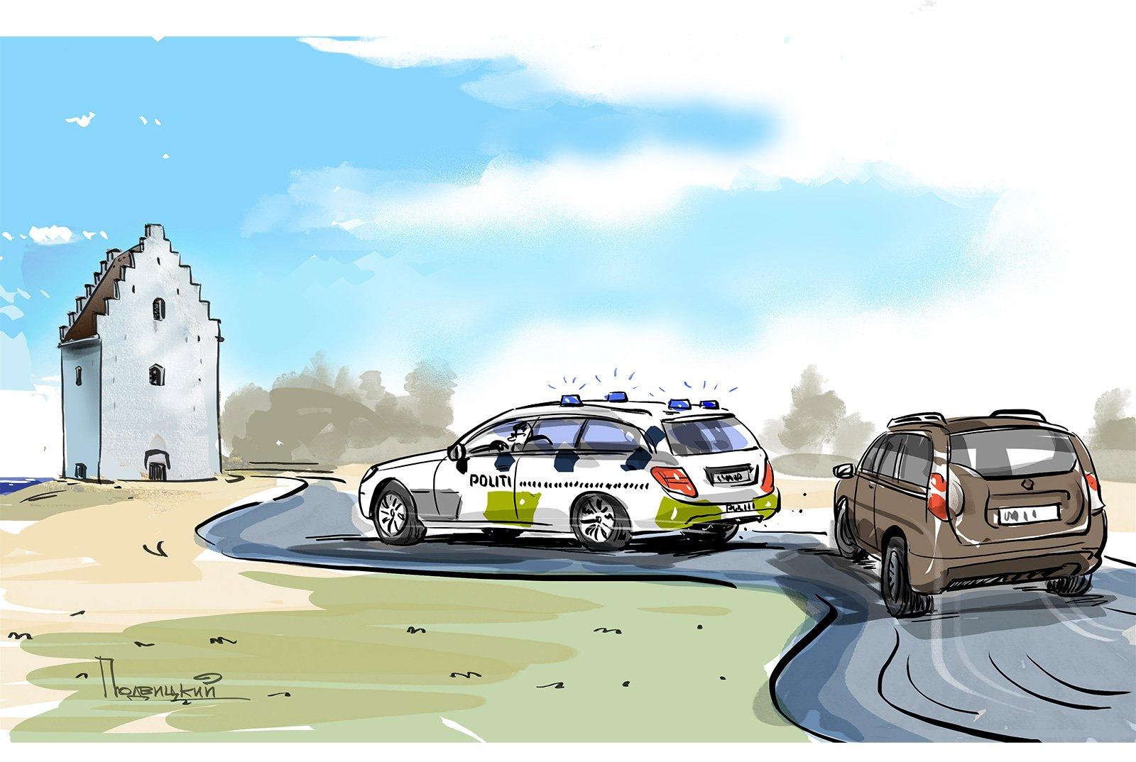 Такая разная полиция: у них и у нас