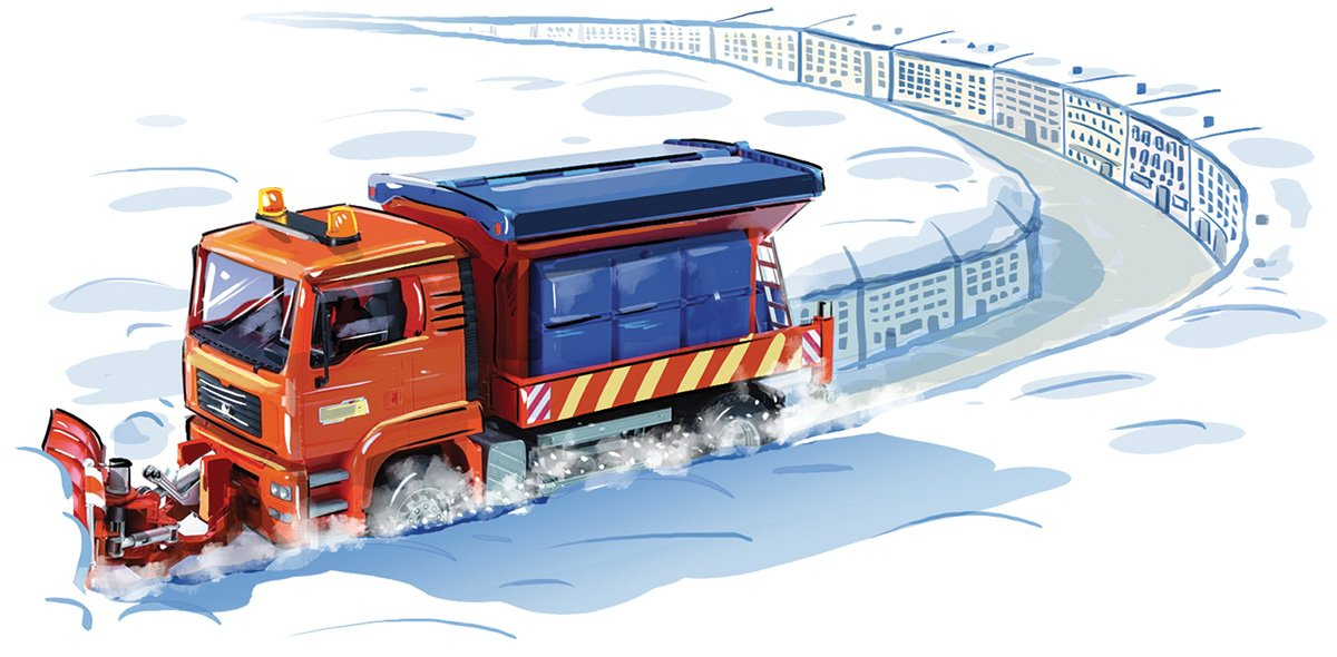 Почему у нас снегоуборочная техника расчищает не то, что надо