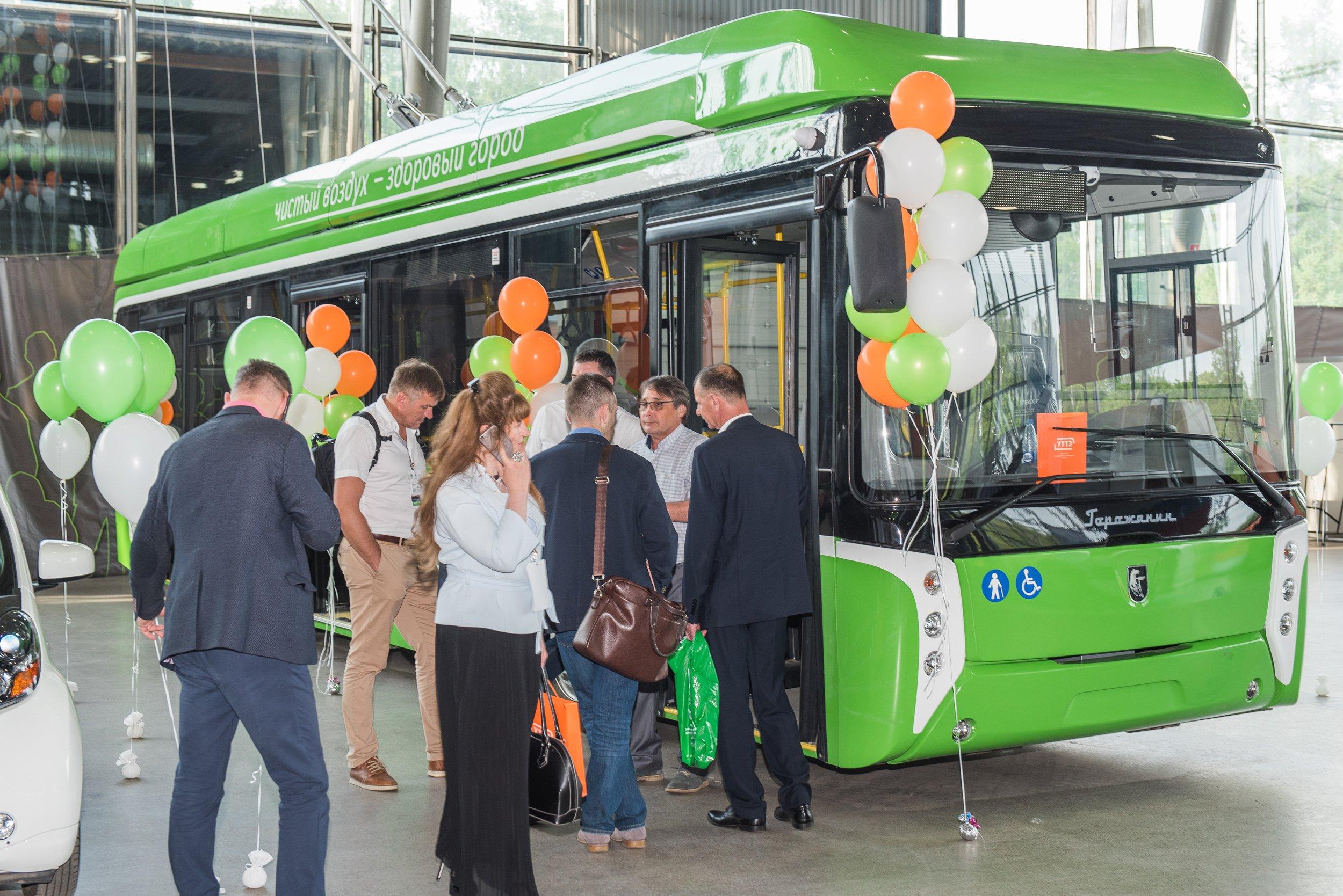 Выставки Российской недели общественного транспорта пройдут в Экспоцентре