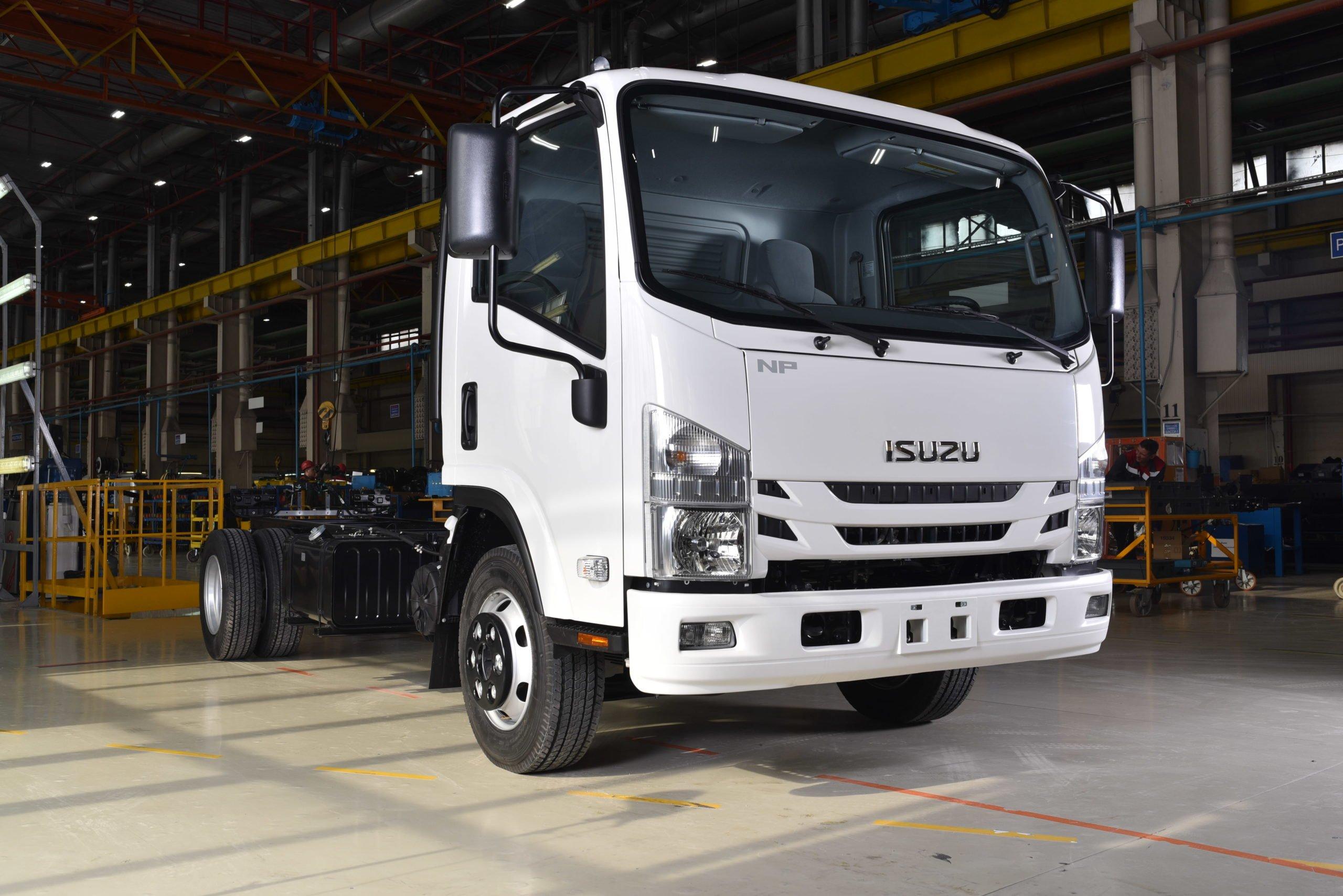 Грузоподъемность новой модели Isuzu Elf 8.0 увеличили на 500 кг