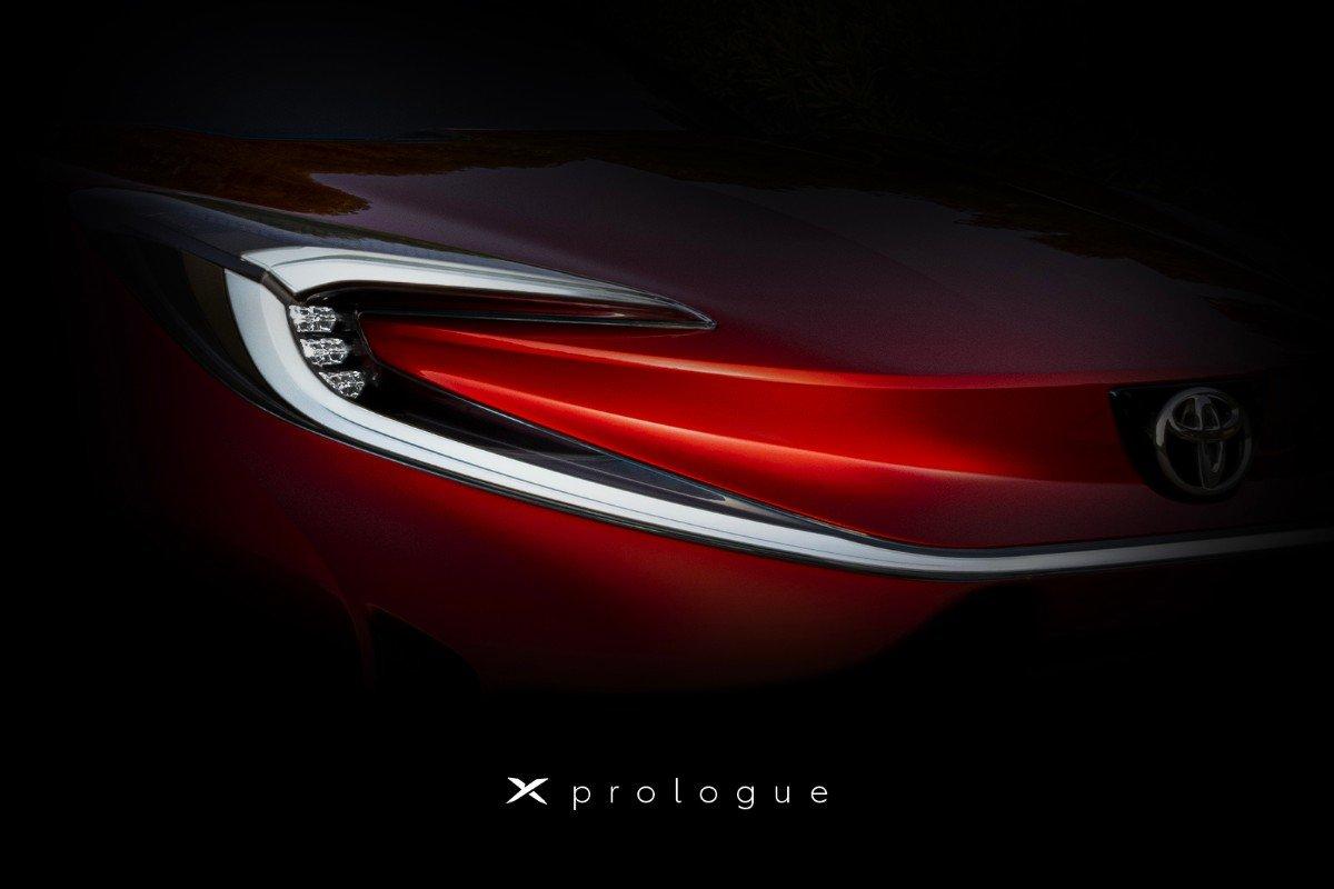 Toyota опубликовала изображение загадочного электрокара