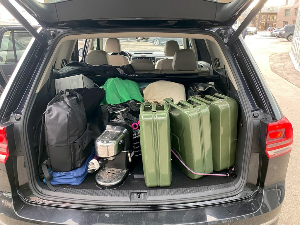 Купил VWTeramont для поездок на рыбалку: за 3 года он ни разу не подвёл