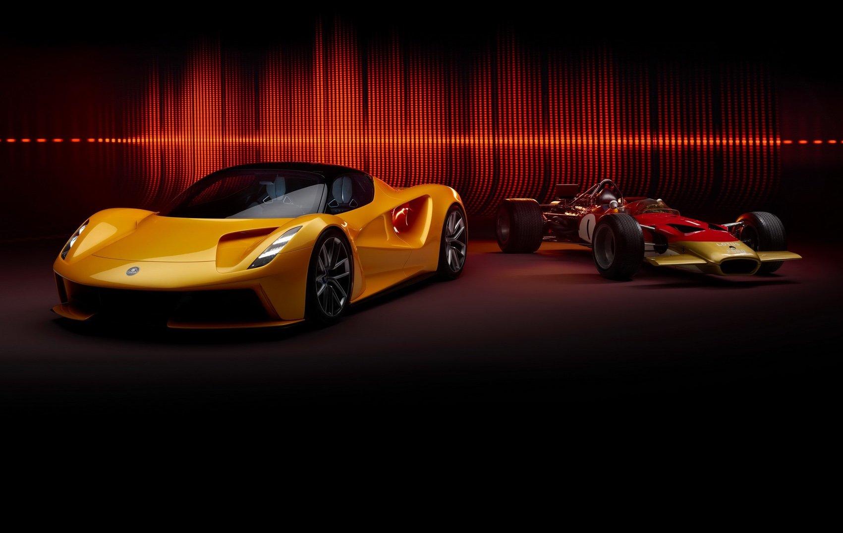 Гиперкар Lotus Evija получит звучание исторического болида Формулы-1 (видео)