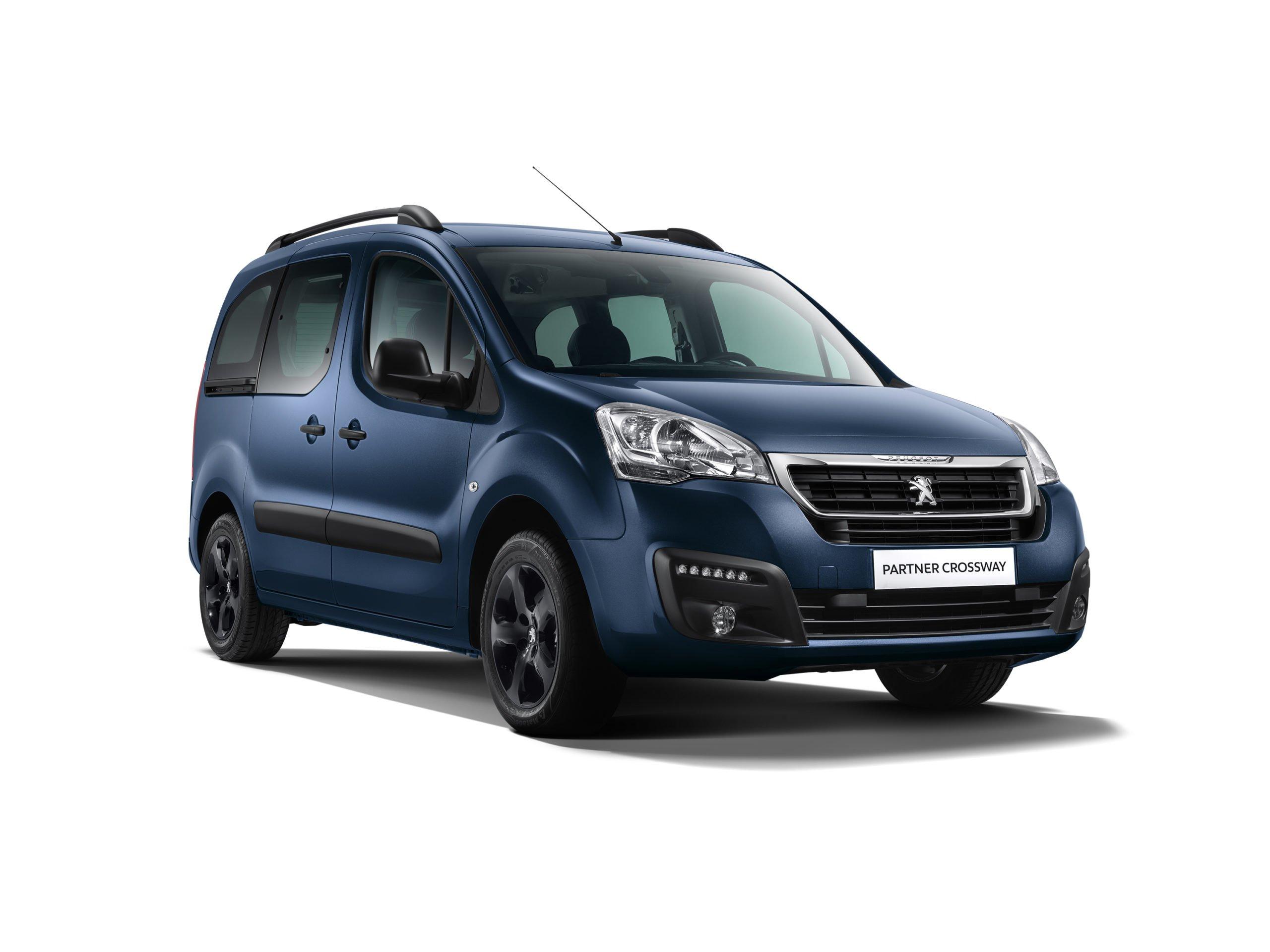 Стартовал приём заказов на новый компактвэн Peugeot Partner Crossway для России