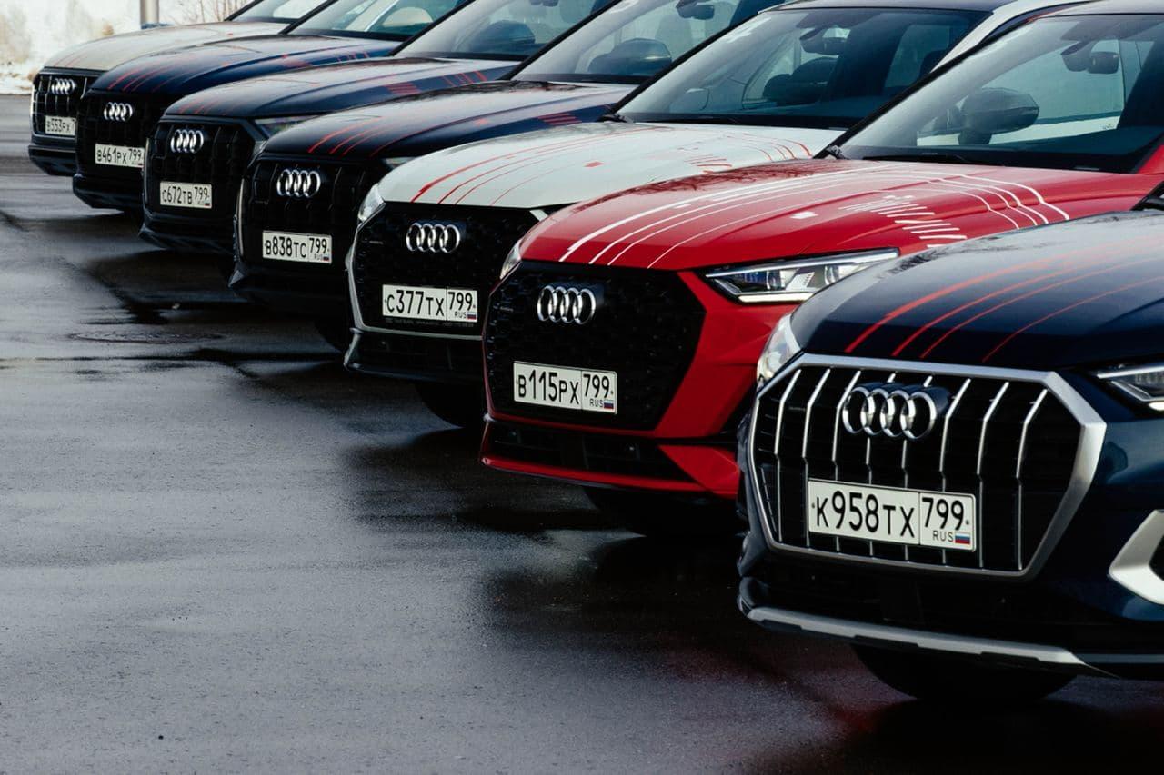 Audi Quattro Days в Лужниках: электромобильность во всей красе