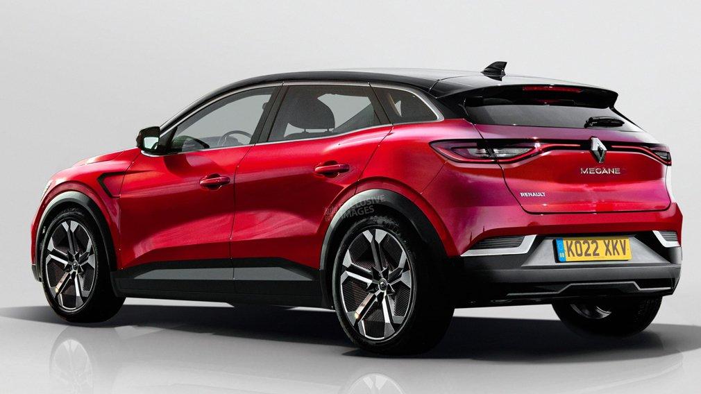 Renault Megane станет электрокроссовером