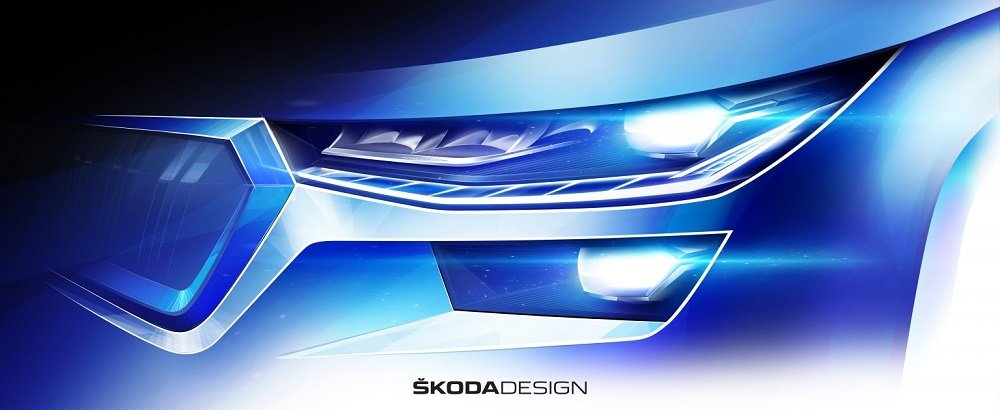Skoda раскрыла облик и дату премьеры обновлённого Kodiaq