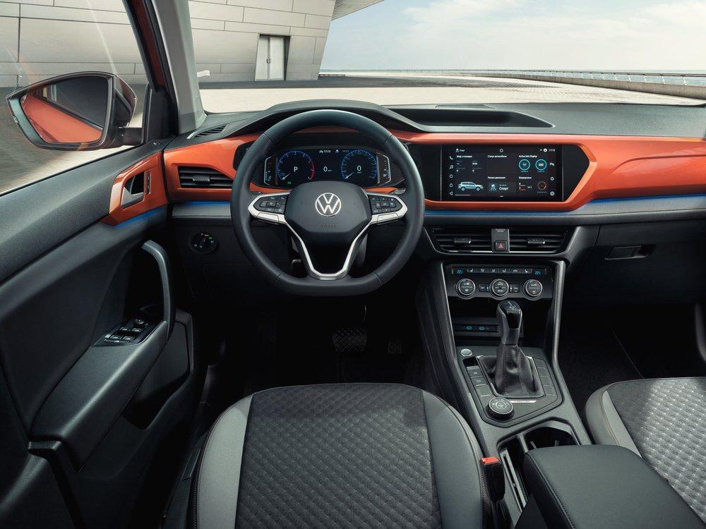 Новый бюджетный кроссовер VW Taos для России: раскрыты подробности