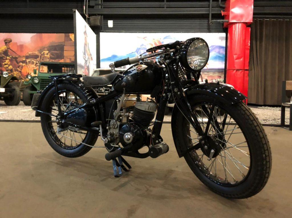 ИЖ-8. Мотоцикл разведки Великой Отечественной войны