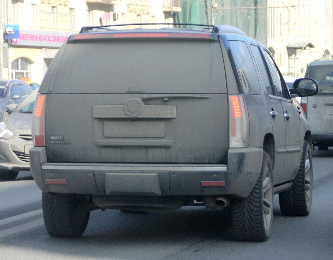Машинам с грязными номерами запретят ездить по платным трассам