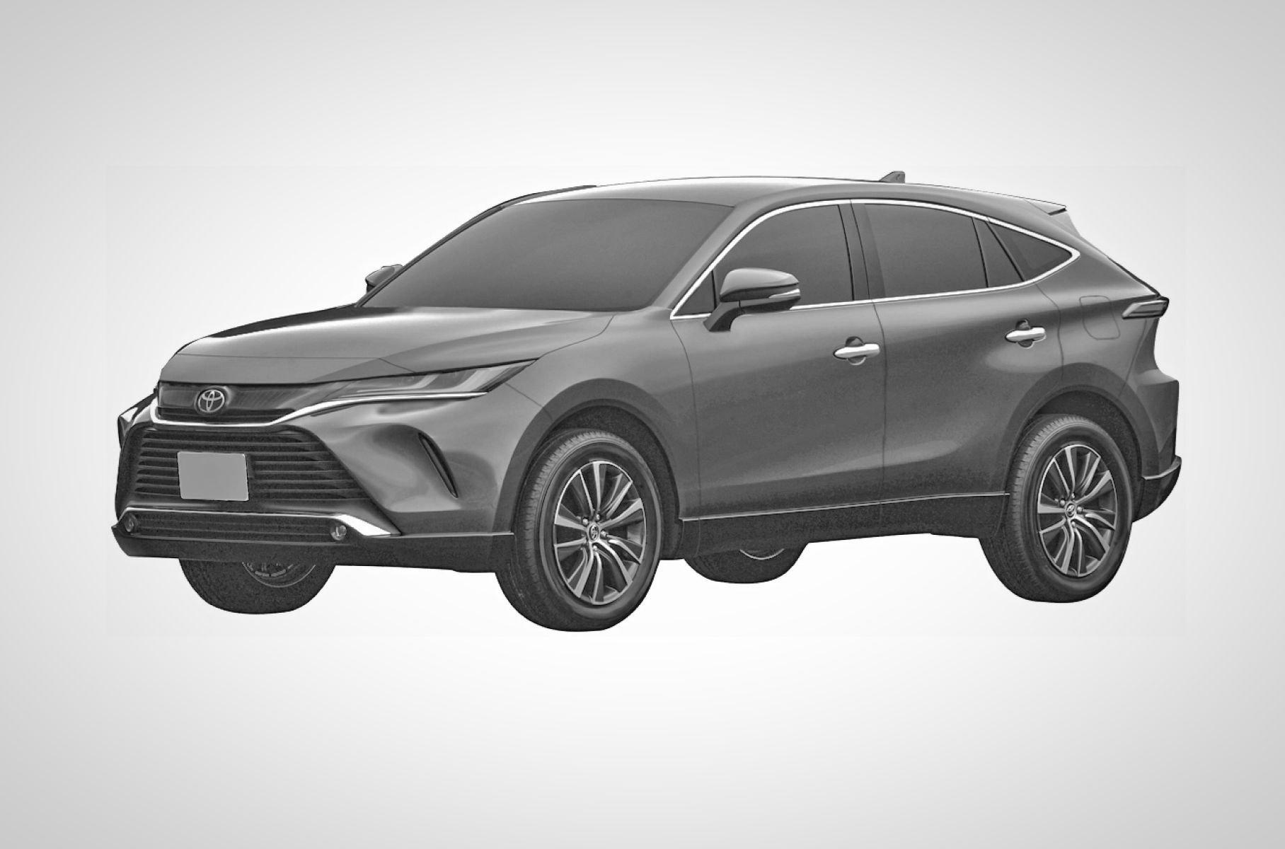 В России может появиться гибридный кроссовер Toyota