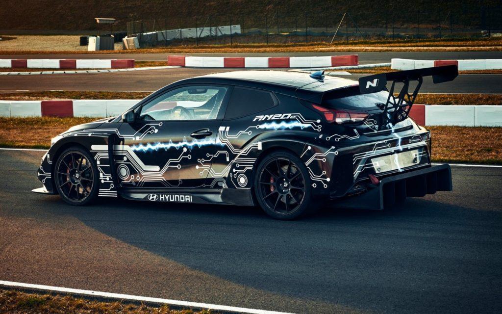 Hyundai выпустит гоночный электрокар и водородное авто