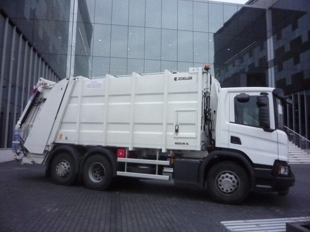 Новейшие модели мусоровозов, которые уже есть в России