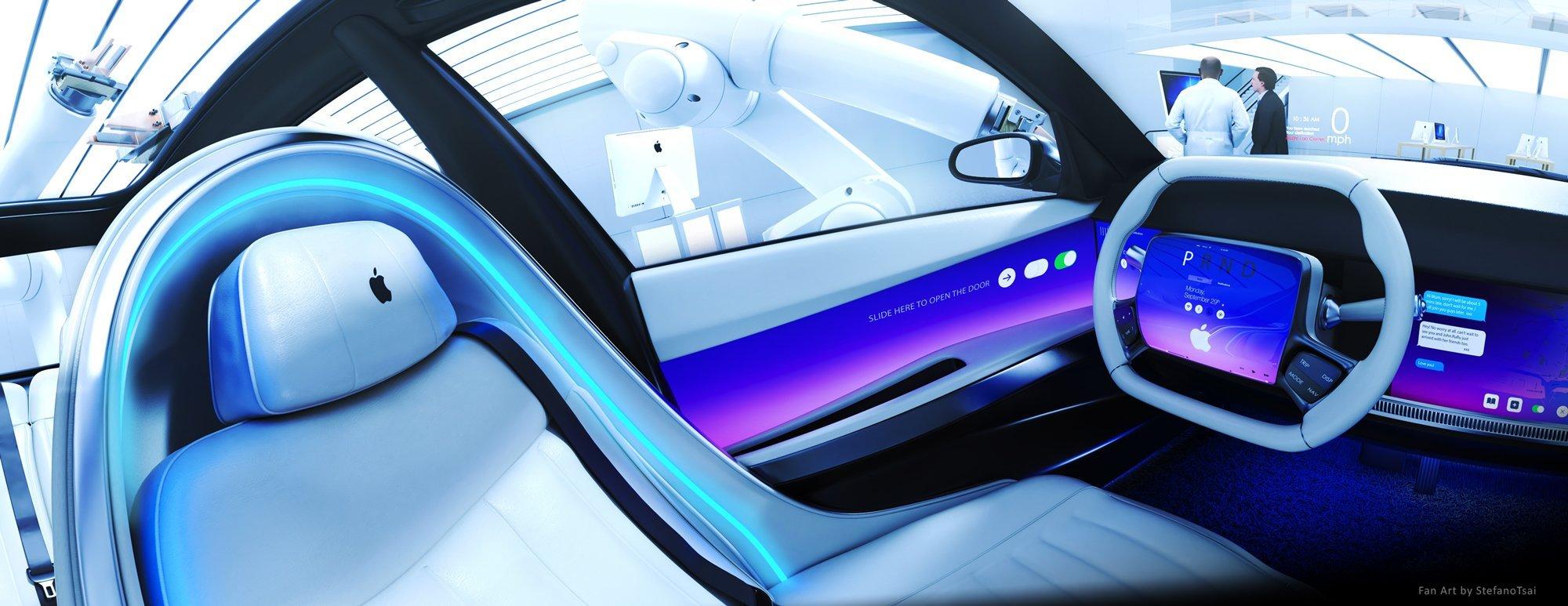 Сборкой электромобиля Apple может заняться СП LG-Magna