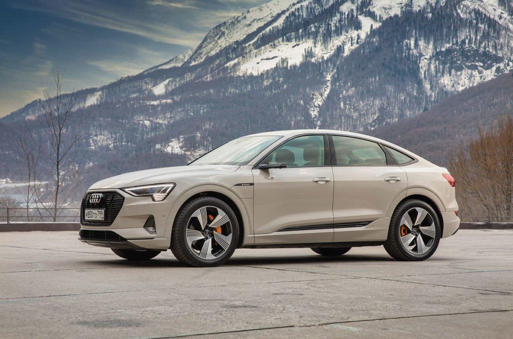 Испытал Audi e-tron Sportback на сочинских серпантинах: рассказываю, чем он меня удивил