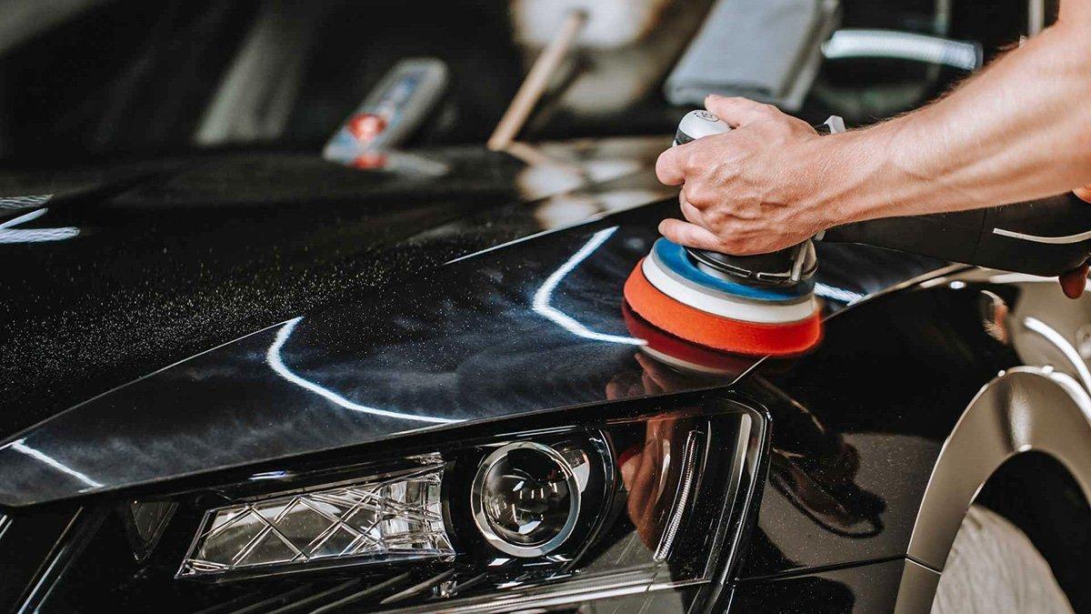 Как заставить кузов машины блестеть