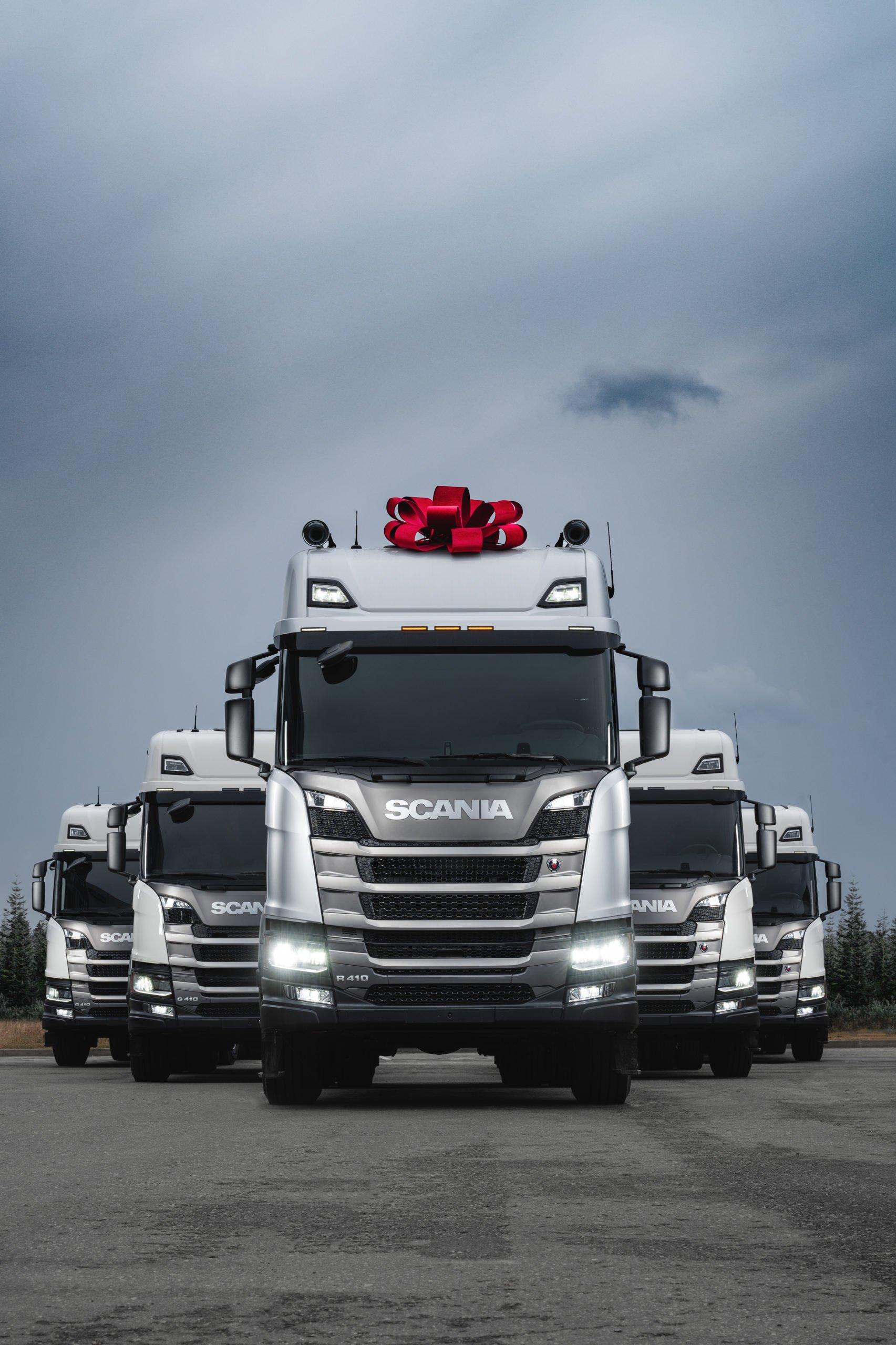 Тысячная Scania на метане отгружена российскому клиенту