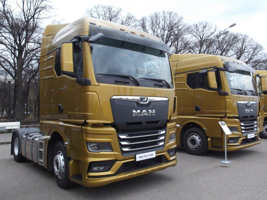 В Москве презентовали новое поколение грузовых автомобилей MAN для российского рынка.