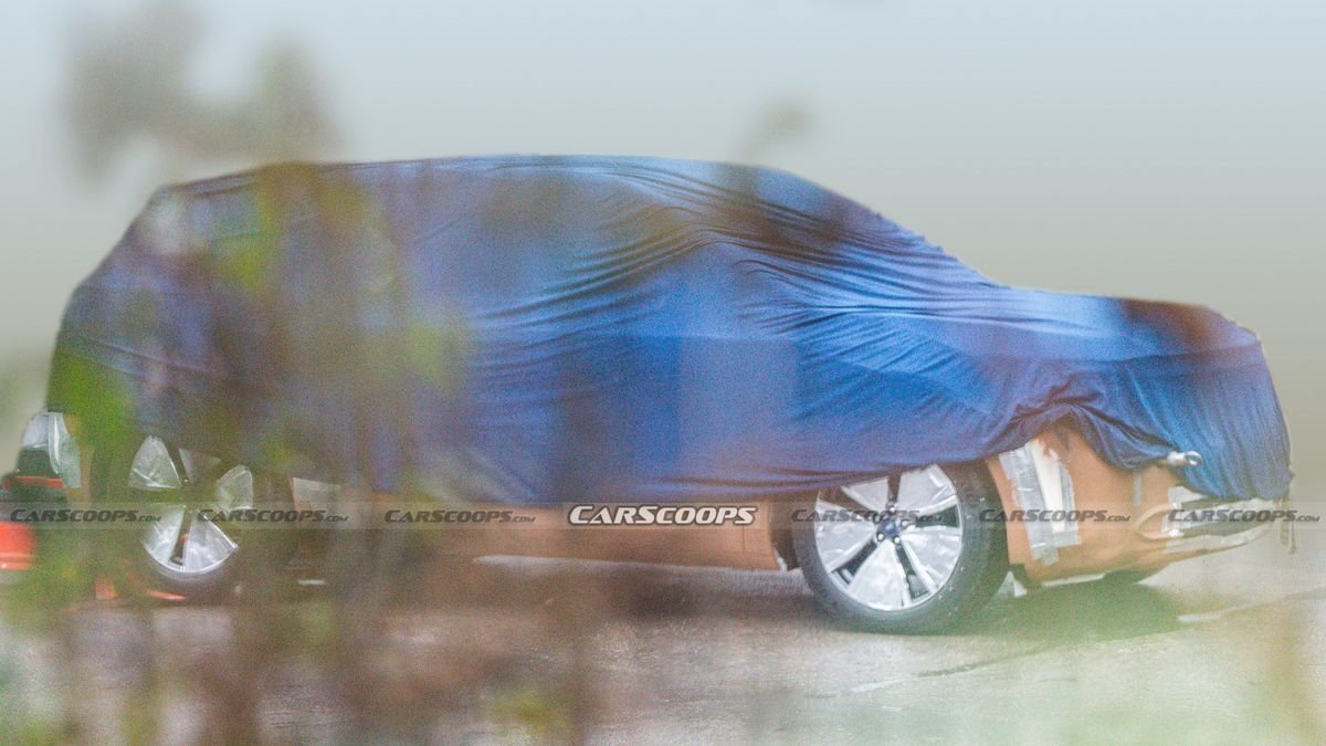 Опубликованы первые фото кроссовера Ford на платформе Volkswagen