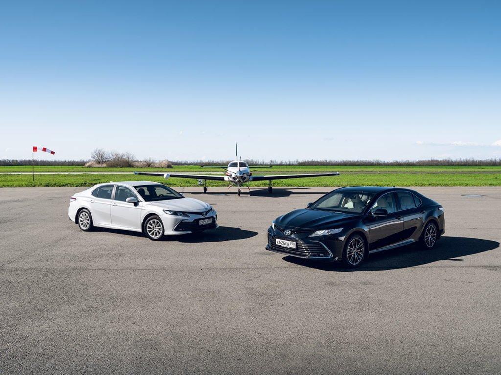 Хотели как лучше: первый тест Toyota Camry 2021. Вариатор, новые «четверки» и GR Sport
