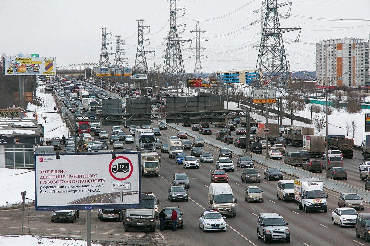Грузовикам закроют въезд на МКАД: штраф 5 тысяч. Рассказываем, кого это не коснётся